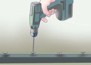 Как снять заклепку с металла