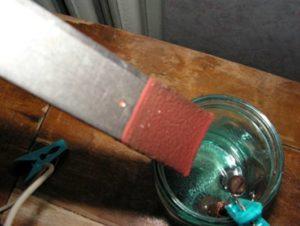 Как травить металл в домашних условиях