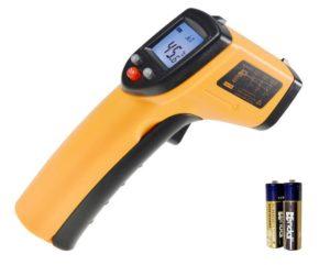 Прибор для измерения температуры бесконтактным методом