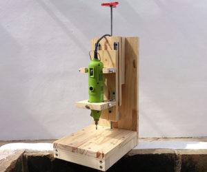 Вертикальный сверлильный станок своими руками