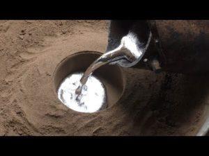 Литье алюминия в песок