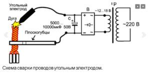 Трансформатор для сварки медных проводов своими руками
