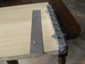 Кондуктор для мебели своими руками