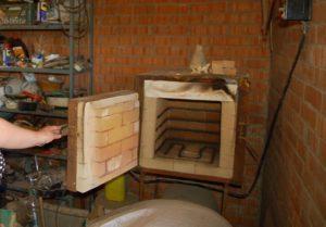 Муфельная печь своими руками