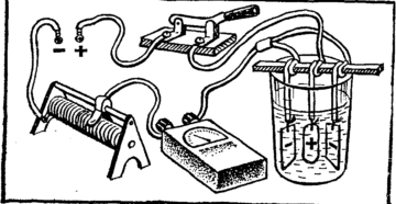 Электрохимическое травление нержавеющей стали