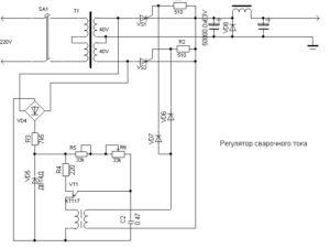 Регулировка тока в сварочном полуавтомате