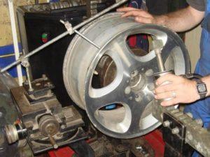 Правка литых дисков своими руками