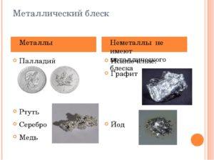 Блестит ли медь алюминий и железо