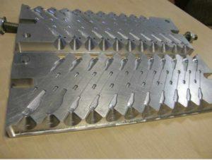 Изготовление форм для литья грузил из свинца