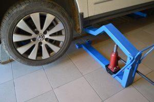 Мини подъемник для авто своими руками