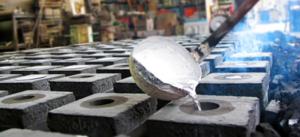 Литье алюминия в землю