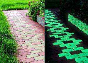 Светящаяся тротуарная плитка производство
