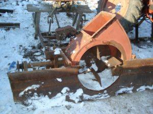 Роторный снегоочиститель своими руками на трактор