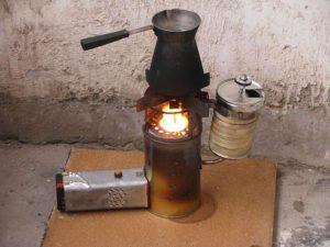 Печь на дизельном топливе своими руками