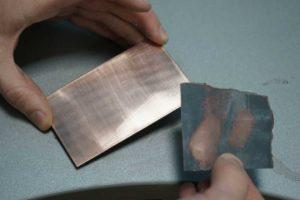 Фольгированный текстолит своими руками