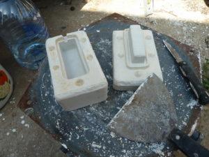Из чего сделать форму для отливки алюминия