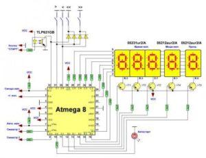 Блок управления точечной сваркой на микроконтроллере