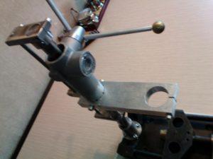 Стойка для дрели из рулевой рейки