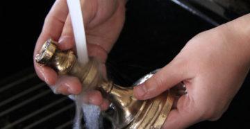 Чистка изделий из латуни в домашних условиях