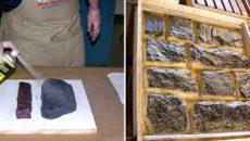 Как изготовить искусственный камень в домашних условиях