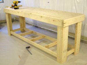 Как сделать деревянный верстак своими руками