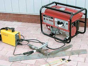Как подобрать генератор для сварочного инвертора