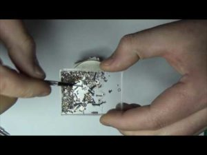 Как размагнитить металл