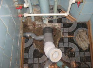 Как поменять канализацию в квартире своими руками