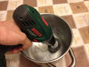 Очистка алюминия в домашних условиях