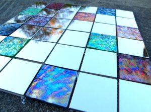 Плитка из стекла своими руками
