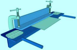 Самодельный станок для гибки листового металла