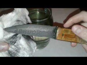 Воронение металла в домашних условиях лимонной кислотой