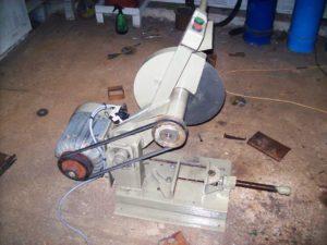 Самодельный отрезной станок по металлу своими руками