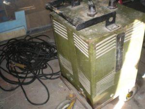 Промышленные сварочные аппараты советского производства