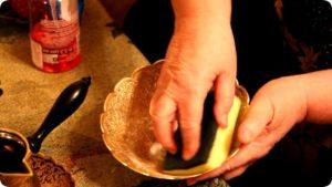 Как почистить люстру из латуни