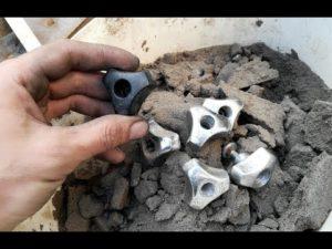 Формовочная смесь для литья алюминия