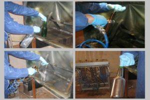 Как напылить металл в домашних условиях