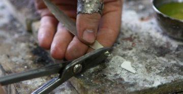 Припой для пайки серебра своими руками