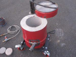 Печка для плавки алюминия своими руками