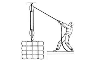 Как поднять груз на высоту своими руками