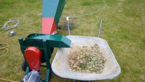 Измельчитель веток садовый электрический своими руками