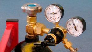 Какое давление углекислоты при сварке полуавтоматом