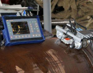 Дефектоскоп для проверки сварных швов
