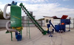 Производство гранулированных кормов