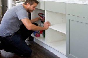 Как собрать корпусную мебель своими руками