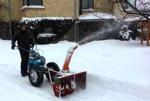 Снего очистная техника своими руками