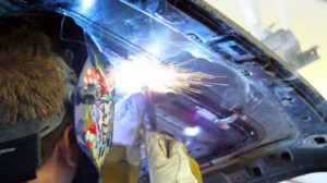 Сварка кузова автомобиля инвертором