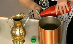Как очистить медь до блеска