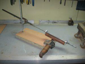 Самодельные приспособления для заточки ножей своими руками