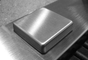 Сатинирование нержавеющей стали